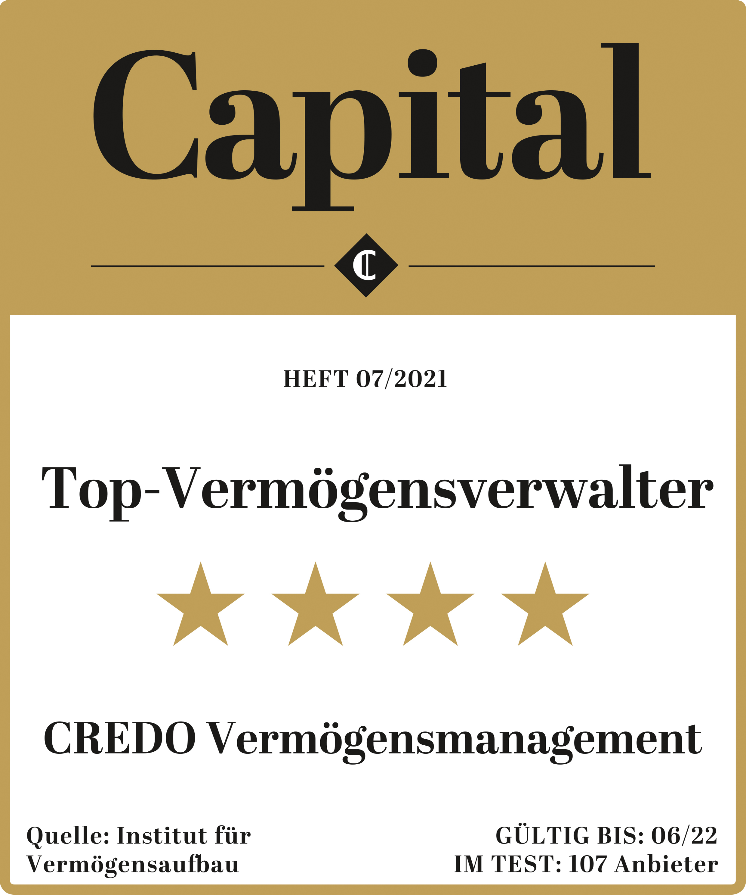 Capital Vermögensmanagement Siegel